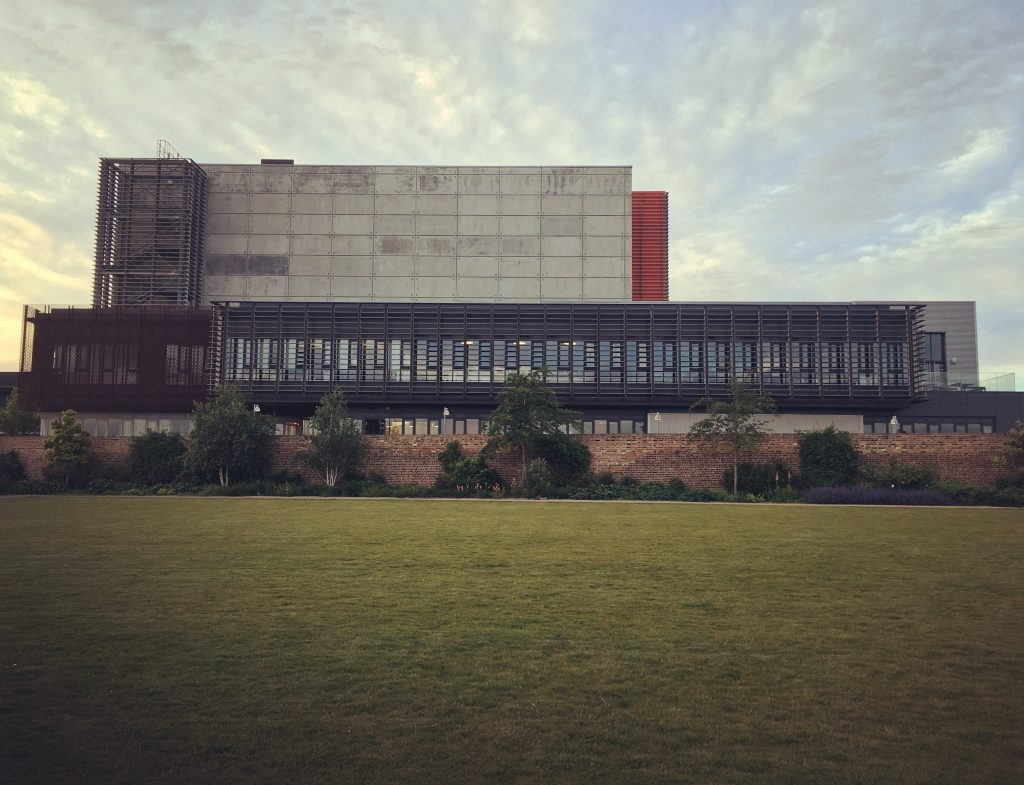 The Backstage Centre from the South of High House Production Park